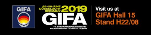 Come and see us at GIFA 25-29 June 2019