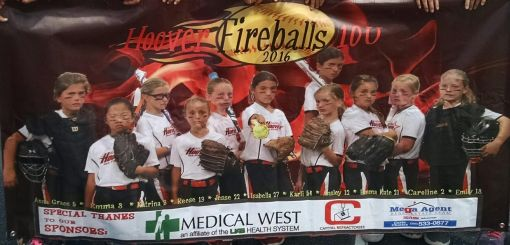 Capital Refractories Inc. was proud to sponsor two USSSA All-Stars youth girls' fast-pitch softball teams.